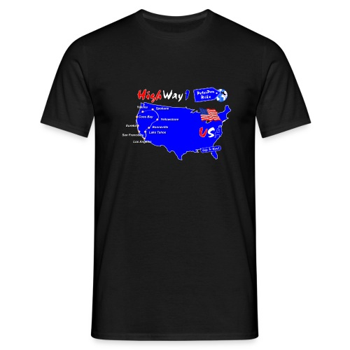 HighWay1-01 - Miesten t-paita