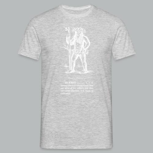 hermit - Men's T-Shirt