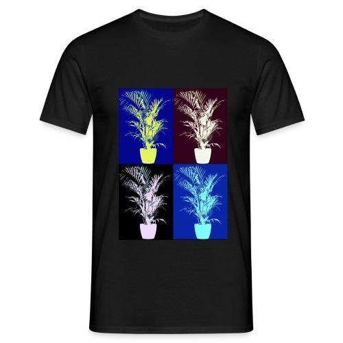 POP ART house tree - Men's T-Shirt