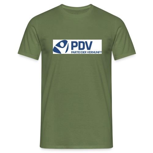 PDV Logo neu jpg - Männer T-Shirt