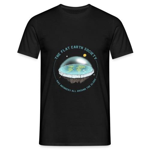 flat earth threadless - Men's T-Shirt