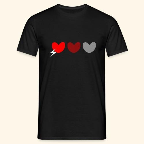 3hrts - Herre-T-shirt