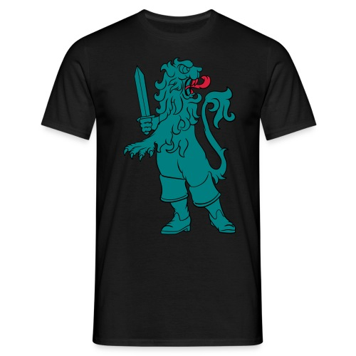 LION_in_boats - T-shirt herr