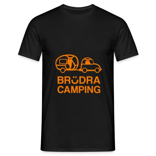 Brödra orange - T-shirt herr