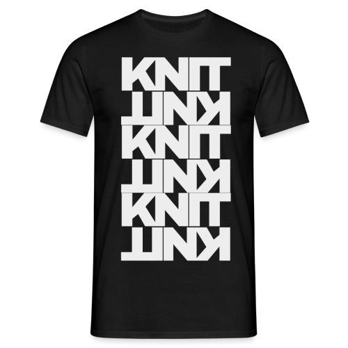 Garter Stitch, light - Men's T-Shirt