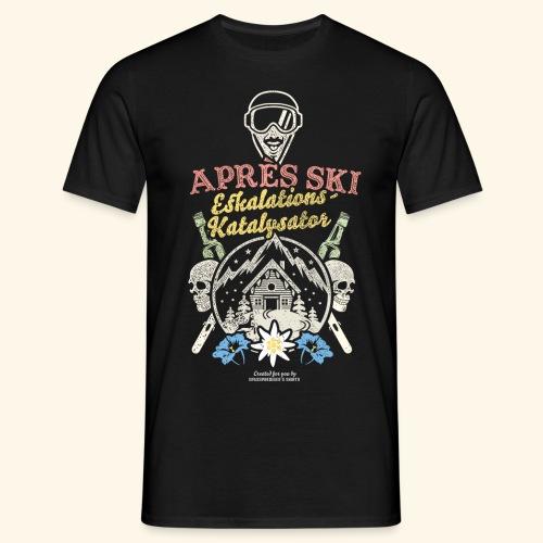 Apres Ski Eskalations-Katalysator T Shirt Design - Männer T-Shirt