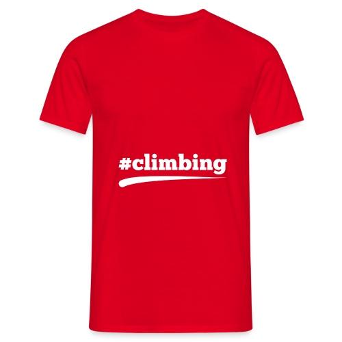 #CLIMBING - Männer T-Shirt