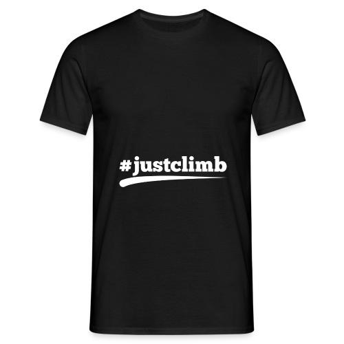 #JUSTCLIMB - Männer T-Shirt