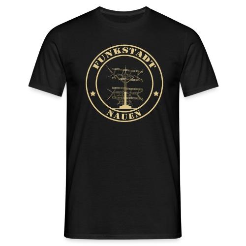 Goldener Funker - Männer T-Shirt