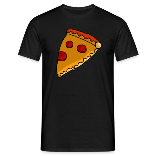 pizza - Herre-T-shirt