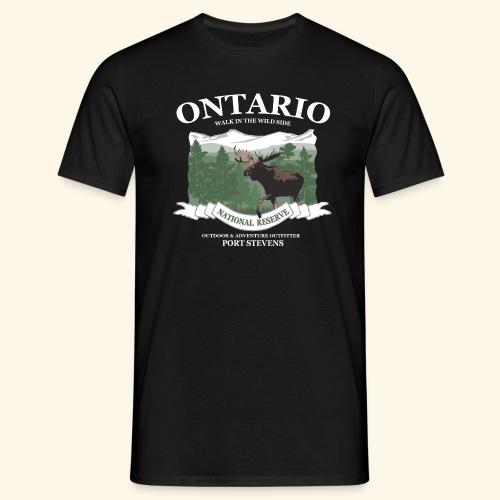 044 Ontario Reserve ElchA png - Männer T-Shirt