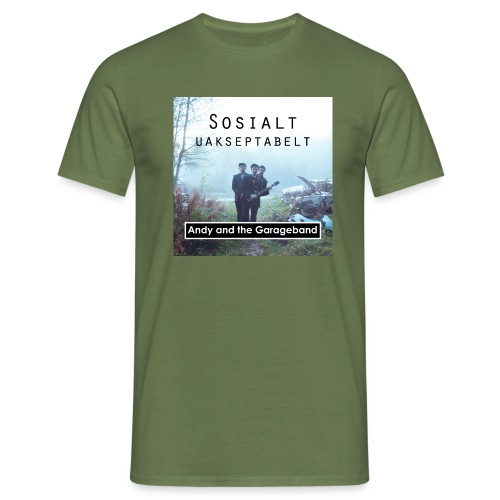 Sosialt Uakseptabelt - T-skjorte for menn