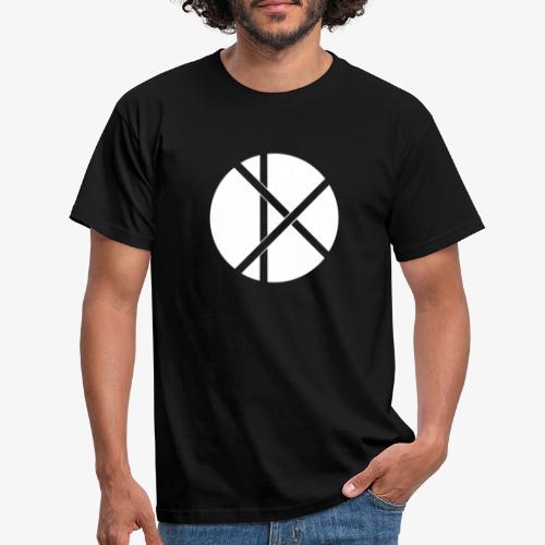 Don Logo - valkoinen - Miesten t-paita