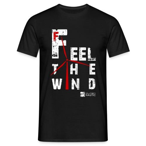 feel the wind_2 - Camiseta hombre