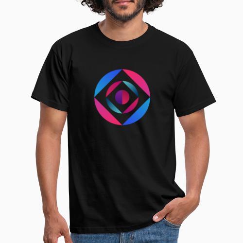 Bi Circle - Men's T-Shirt