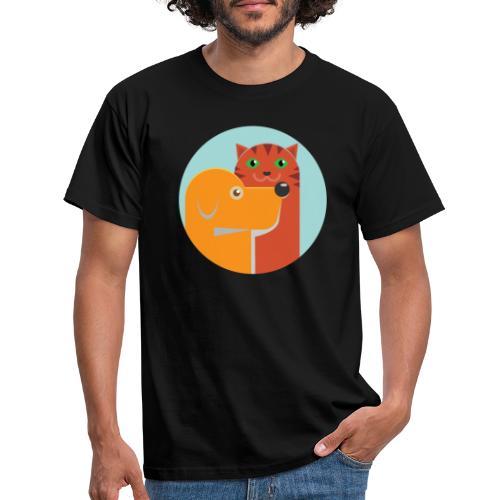 Tierfreund - Männer T-Shirt