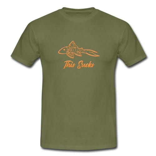 Pleco - Men's T-Shirt