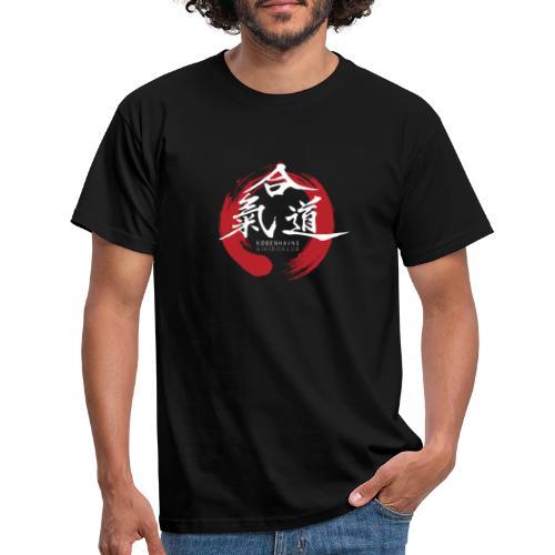 KAK logo white ink - Herre-T-shirt