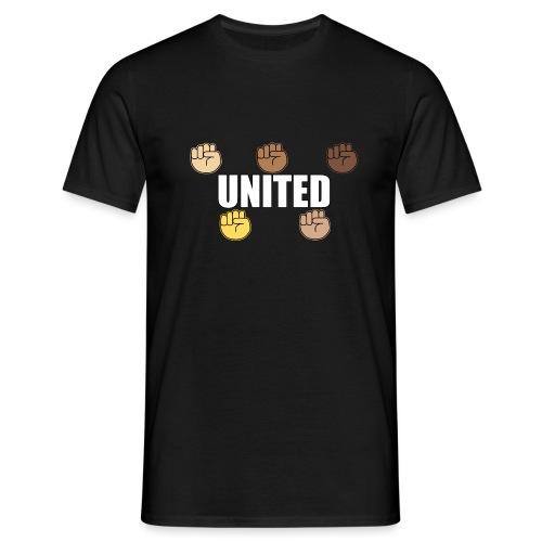Gemeinsam gegen Rassismus - Männer T-Shirt