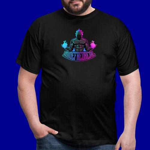 Minefred Real Logo - Männer T-Shirt