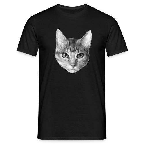 Katze Cat - Männer T-Shirt