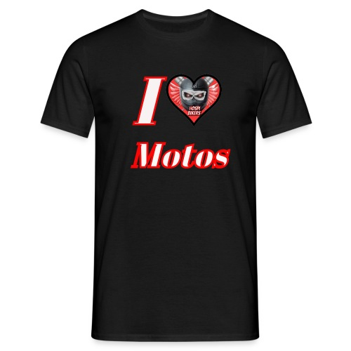 ilovemotos - Camiseta hombre