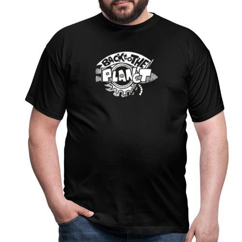 Back To The Planet Original Logo - Men's T-Shirt