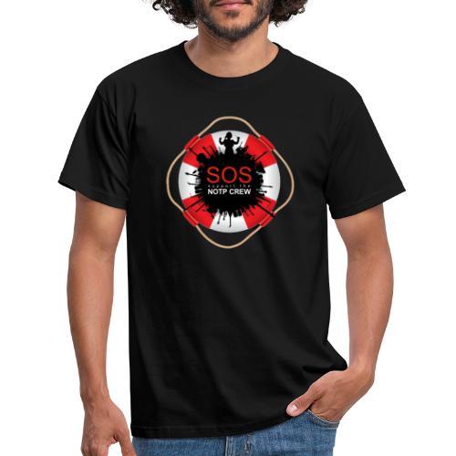 SOS NOTP CREW - Mannen T-shirt