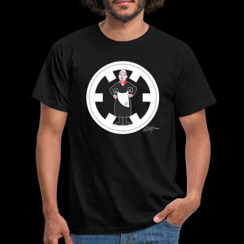 PC33 madre mine records tapes la señora logo - Camiseta hombre