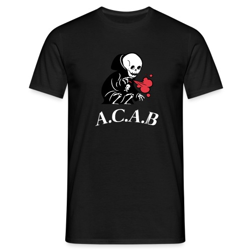 A.C.A.B la mort - T-shirt Homme