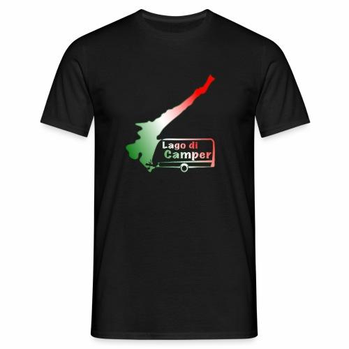Lago di Camper / Lago die Garda - Männer T-Shirt