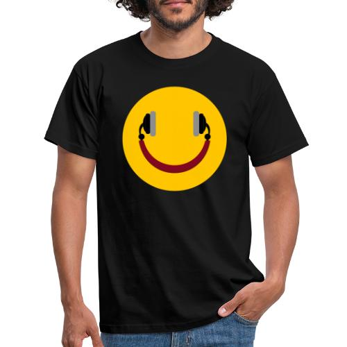 Smiling headphone - Herre-T-shirt