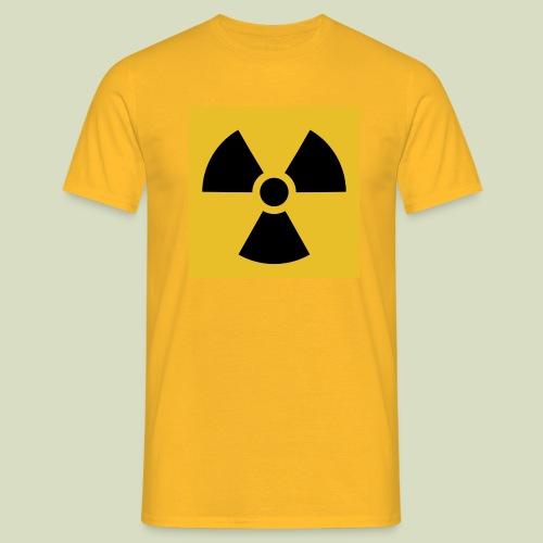 Radiation warning - Miesten t-paita