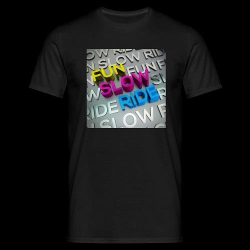 COVER ALBUM Fun Slow Ride 1024x1024 - Maglietta da uomo