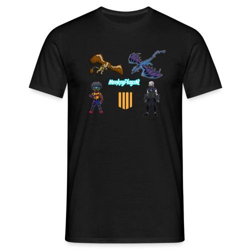 Het echte MonkeyPlaysNL Merch Shop - Mannen T-shirt