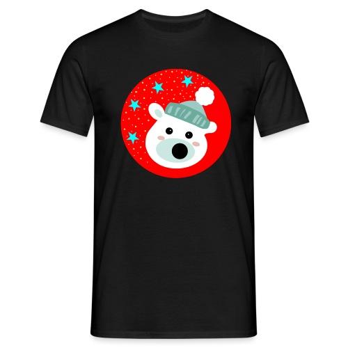 Winter bear - Men's T-Shirt