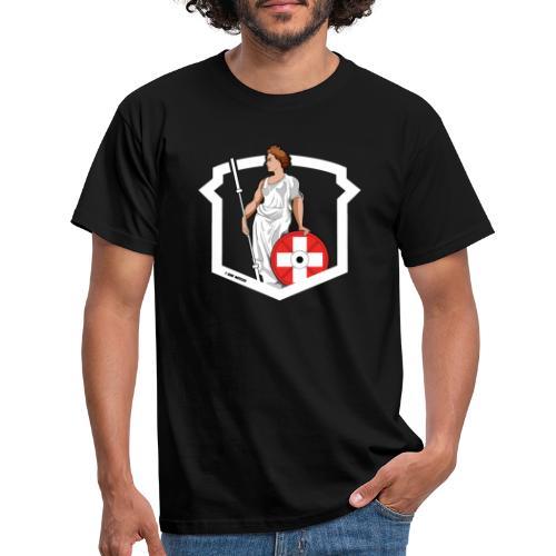 Helvetic Weightlifting Girl - Männer T-Shirt