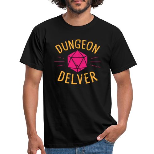 Dungeon Delver yellow pink - Men's T-Shirt