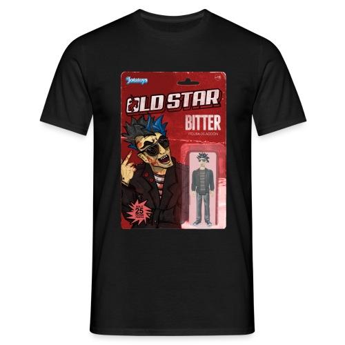 Bitter action figure - Camiseta hombre