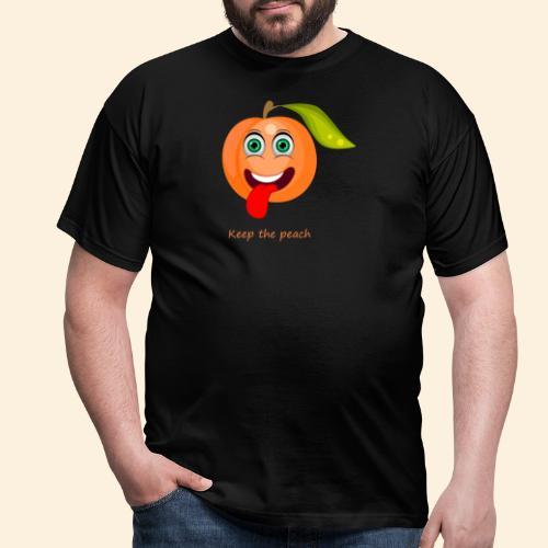 Whoua keep the peach - T-shirt Homme