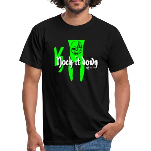 Nock it down - Männer T-Shirt