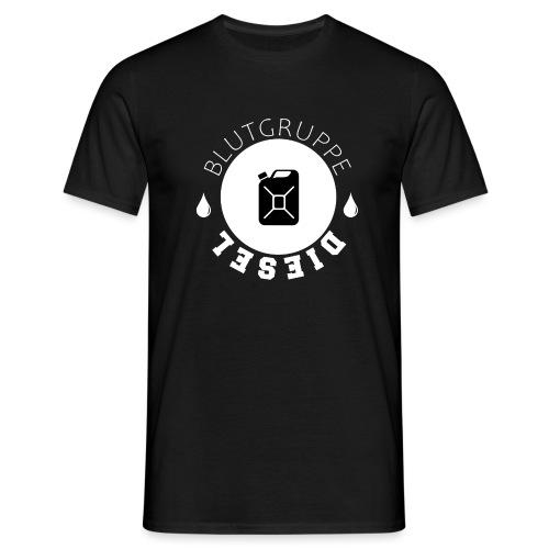 Blutgruppe Diesel - Männer T-Shirt