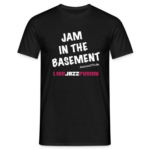 JazzrockTV - Jam In The Basement - Männer T-Shirt