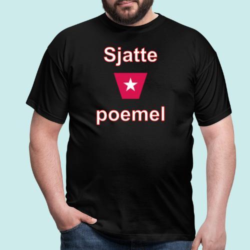 Sjattepoemel ms vert w3 - Mannen T-shirt