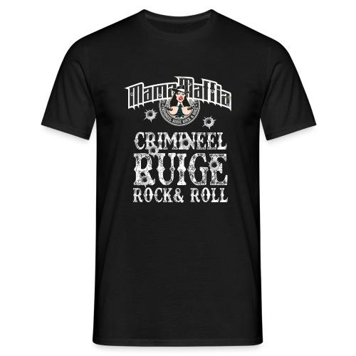 crimineel shirt wit - Mannen T-shirt