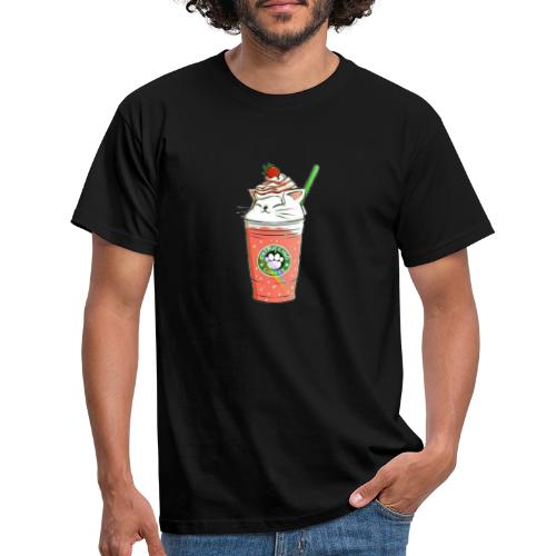 Catpuccino White - Men's T-Shirt