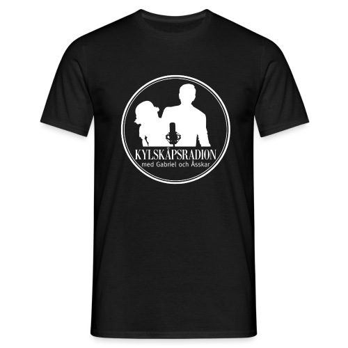 Logga helvit - T-shirt herr