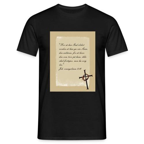 kors 23 skrift jpg - T-skjorte for menn