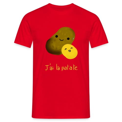 patate png - T-shirt Homme