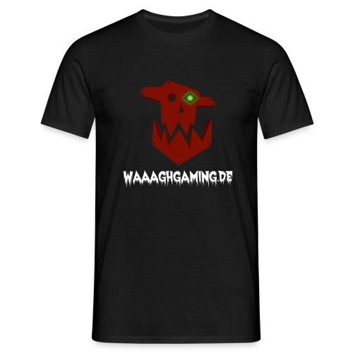waaaghgaming_url_weiss - Männer T-Shirt